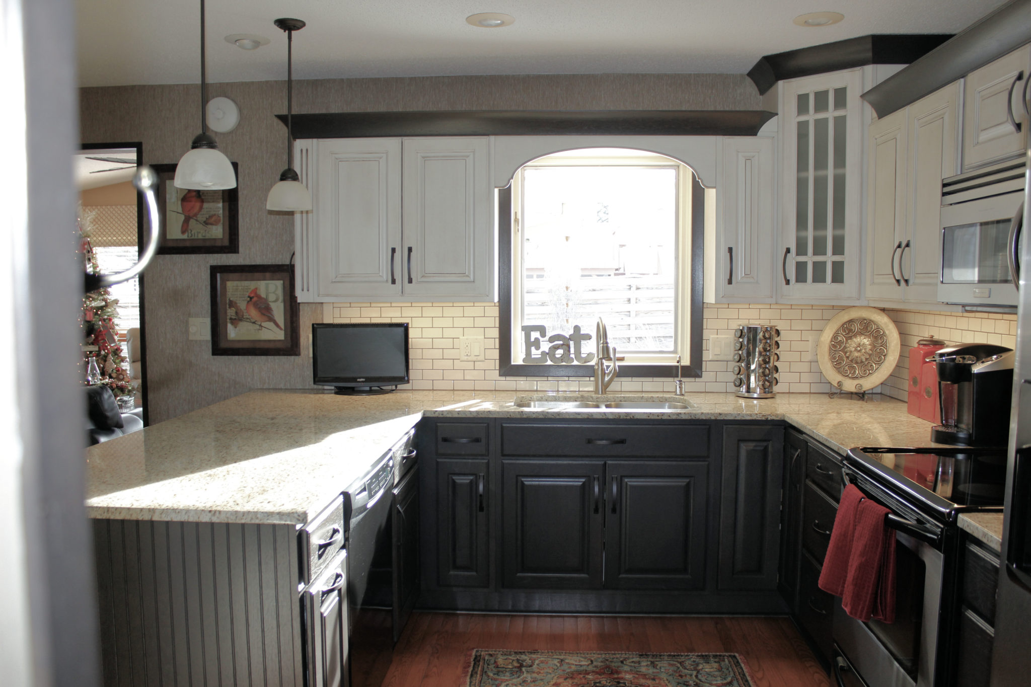 ... Showplace Painted Kitchen ...