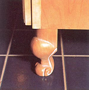 Decorative Feet for Cabinetry
