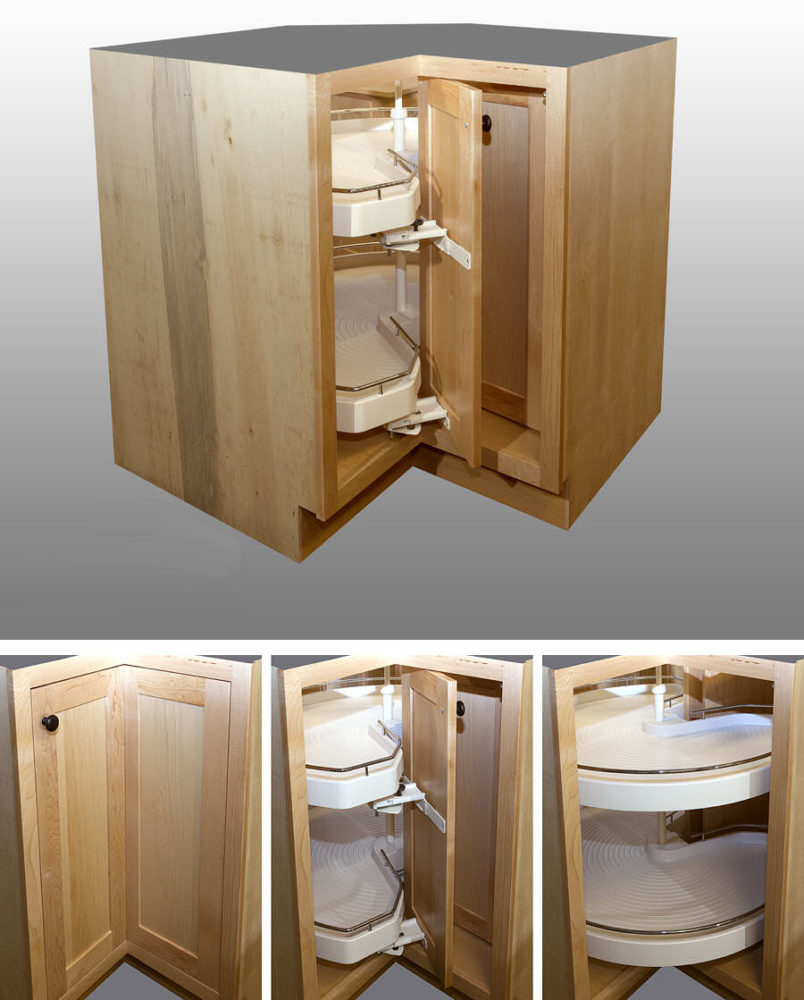 Collapsible Lazy Susan Options
