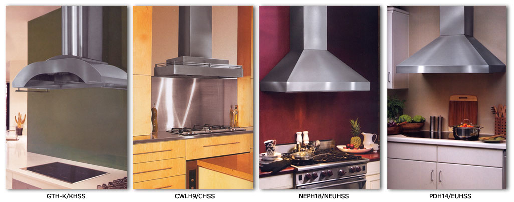Contemporary Range Hood Options
