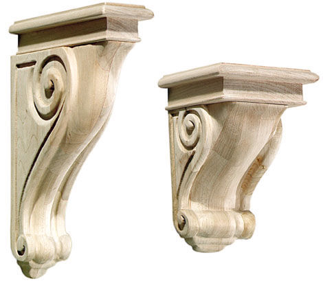 Corbel Finishes