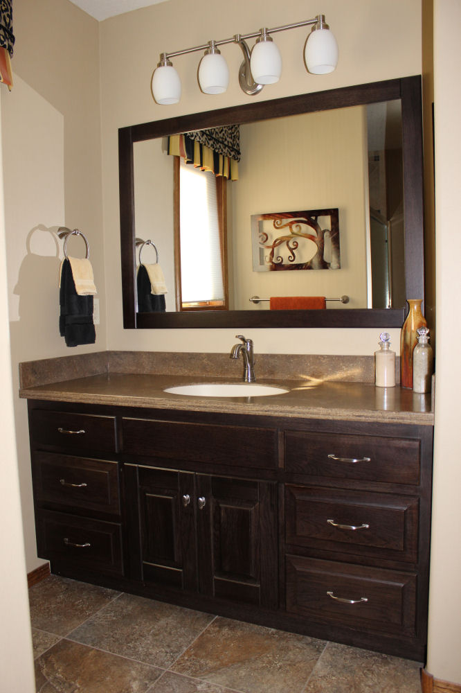 Custom Cabinets with Corian Countertop & Custom Wood Products Cabinetry - Galleries u0026 Projects - The Kitchen ...