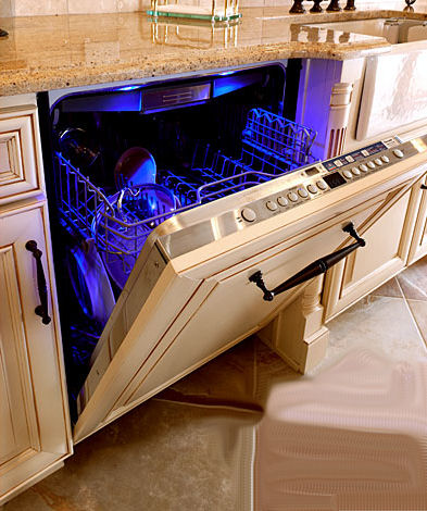 Dishwasher front