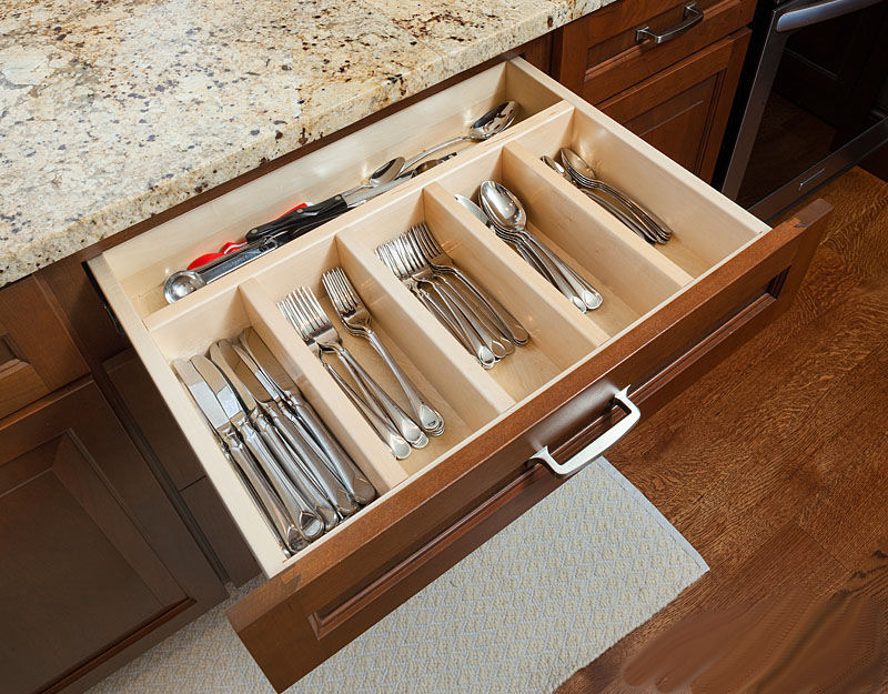 Cutlery Partitions for Organization