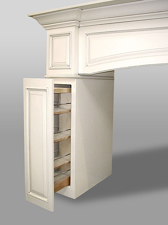Range Hood with Pull Out Drawers