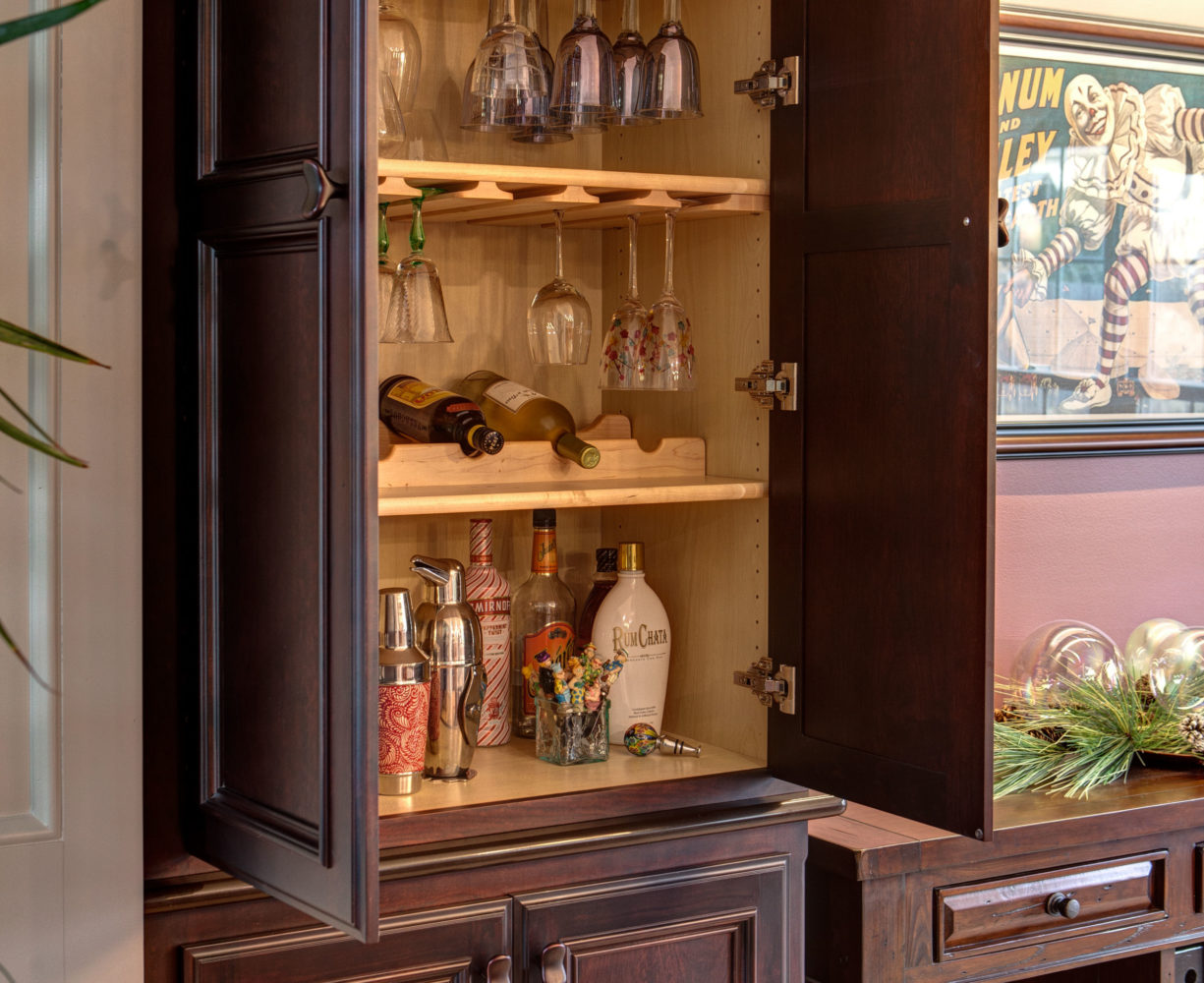 Beautiful Cabinetry with Insets