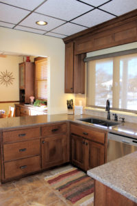 Kitchen and Hutch