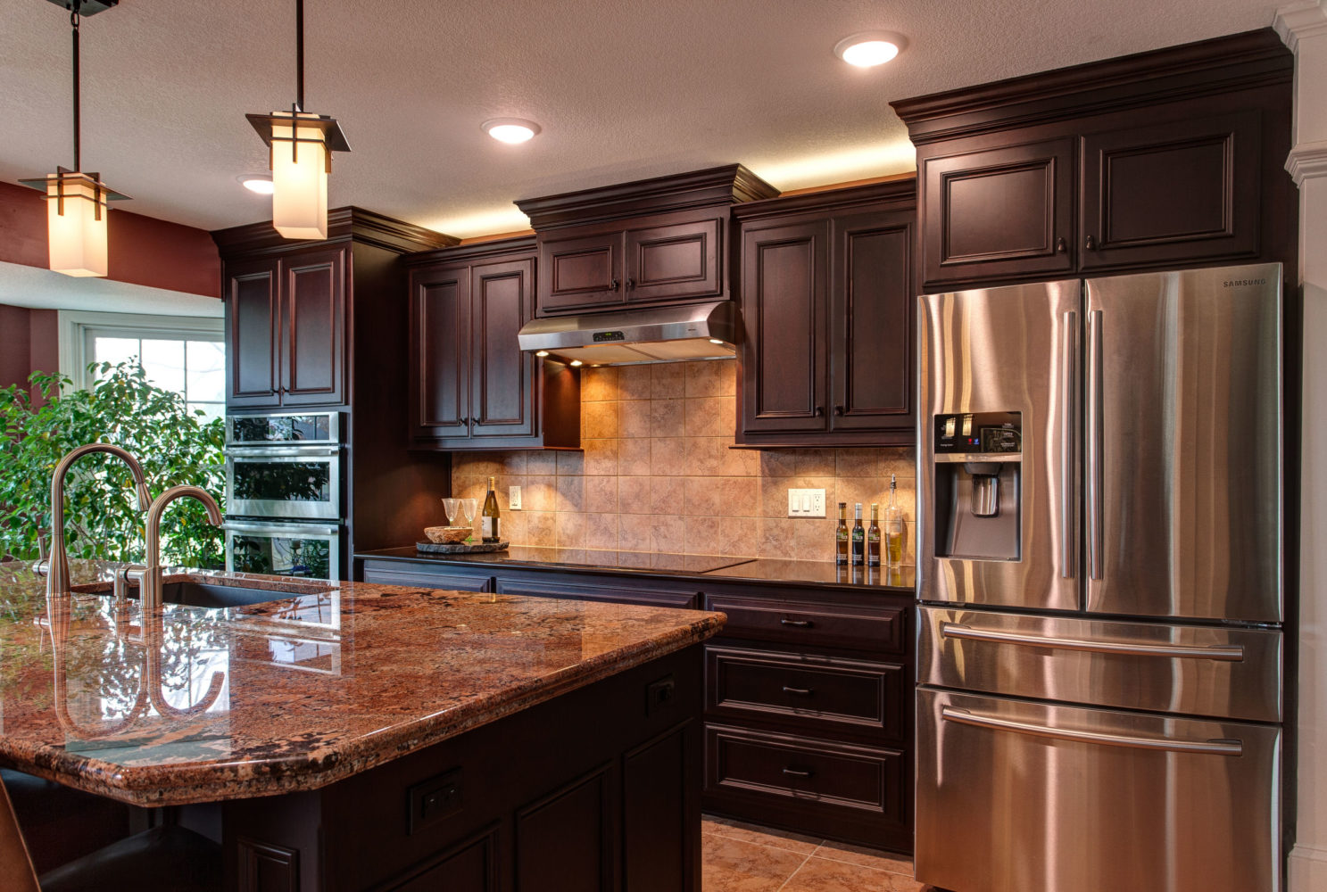 Custom Wood Products Kitchen