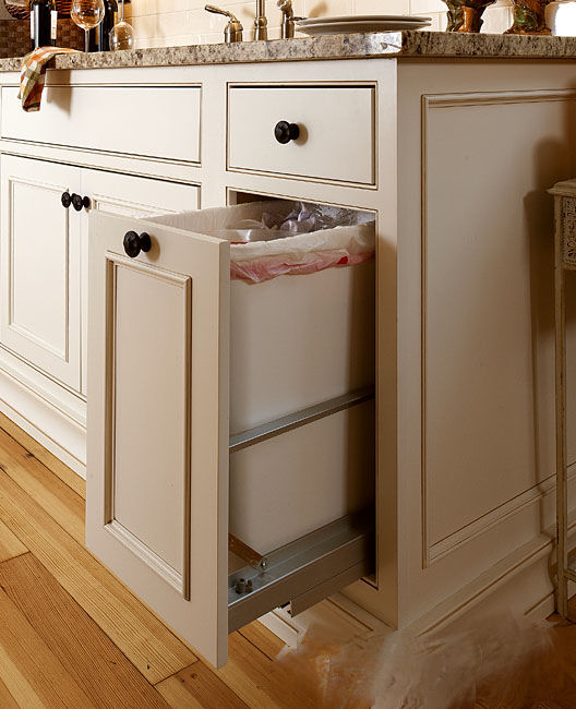 Single Garbage Cabinet