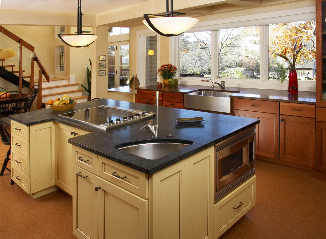 Lancaster Yellow Kitchen