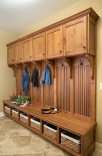 Mud Room Cabinetry