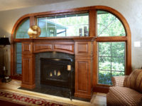 Cherry Fireplace Surround