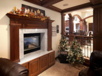 Fireplace Surround with Storage