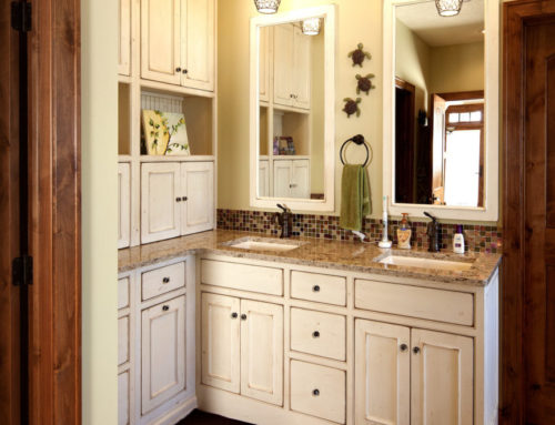 Painted Bathroom Cabinetry