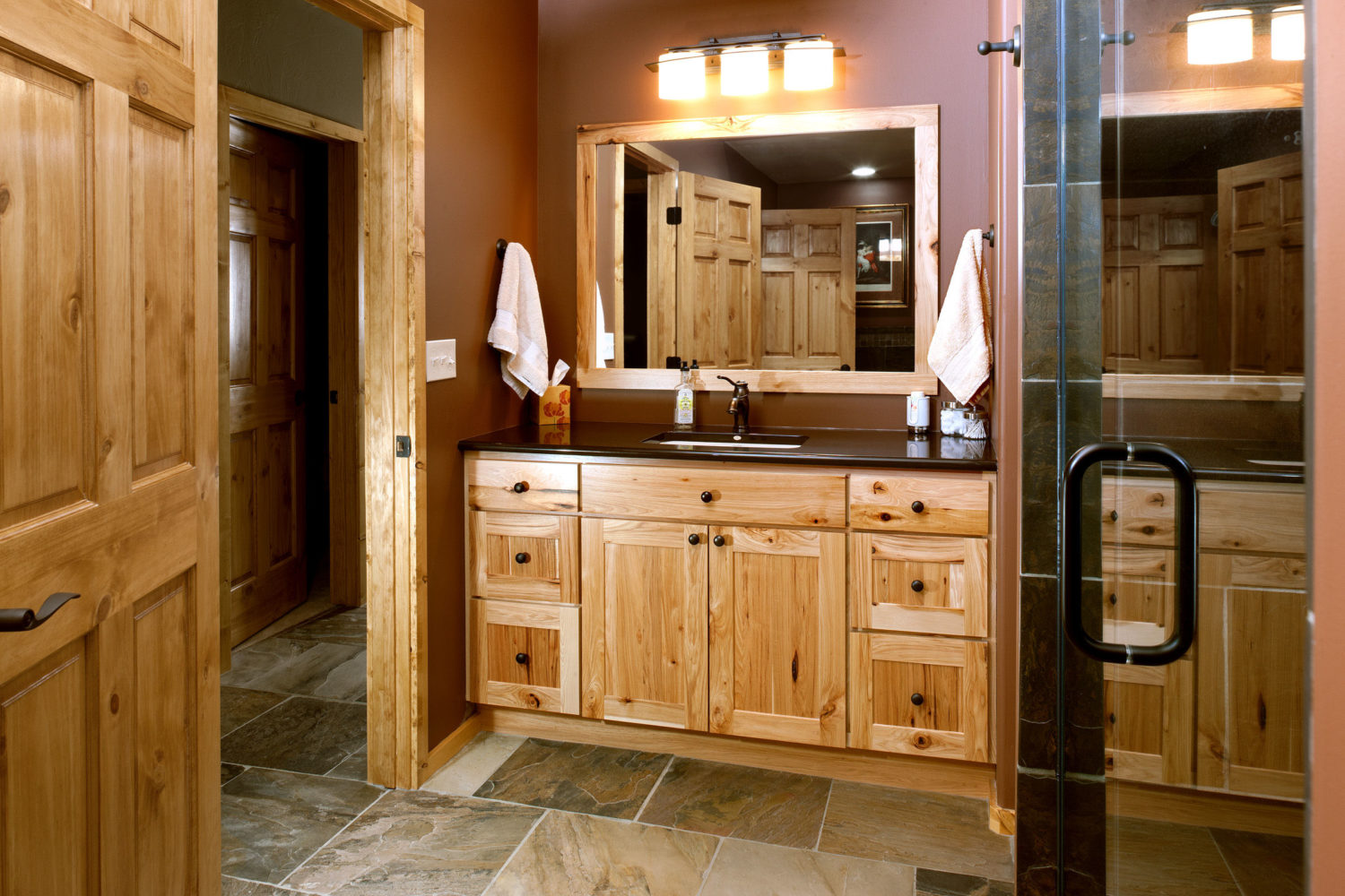 Natural Rustic Bathroom Galleries Amp Projects The