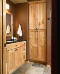 Natural Rustic Bathroom