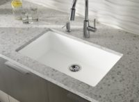 Countertop in Zodiaq Snowdrift