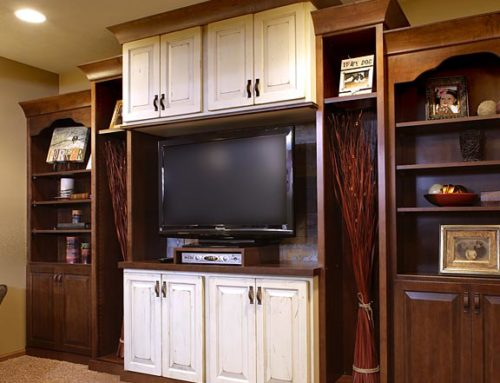 Entertainment Center with Storage
