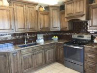 Tawny Kitchen in Hickory with Quartz Countertop